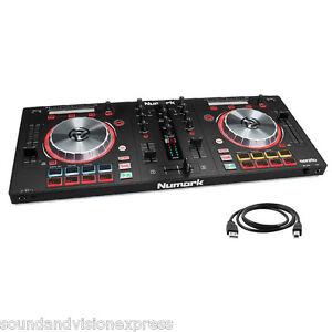 Numark Mixtrack Pro 3 MP3 USB 24-bit Controller + 2-Ch Mixer + Serato DJ + More