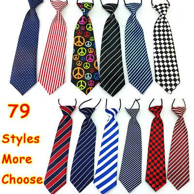 - Elastic Neck Adjustable Tie Baby Boy Girl Child Toddler Wedding Kids Necktie
