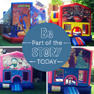Inflatable Bouncers rental - location jeux gonflables