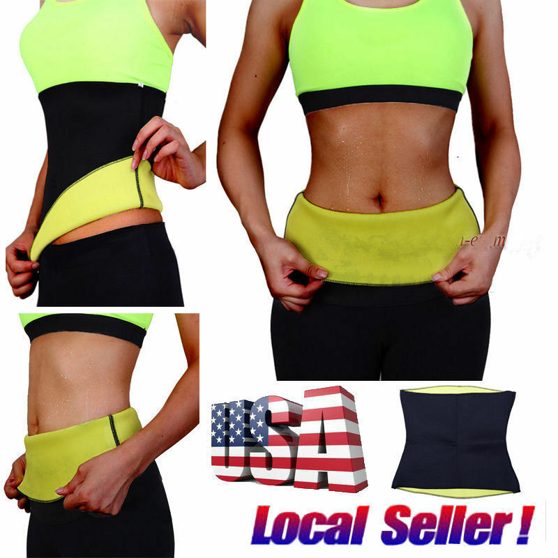 waist trimmer exercise wrap belt slim burn