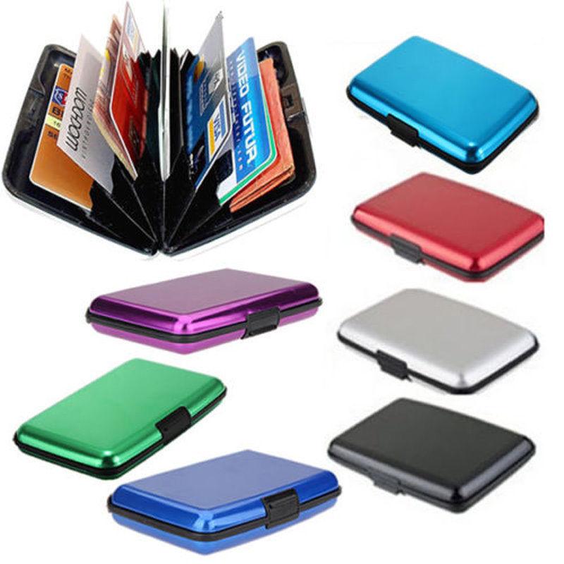 Kreditkartenetui Alu Kreditkarten Etui Visitenkarten Kartenetui Wasserdicht B3