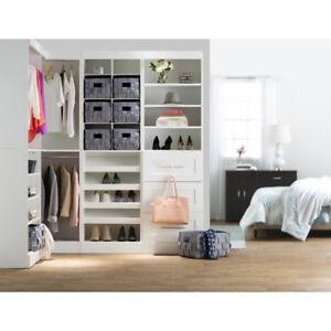 """82.25 """" Rebrillant Closet System NEW"""