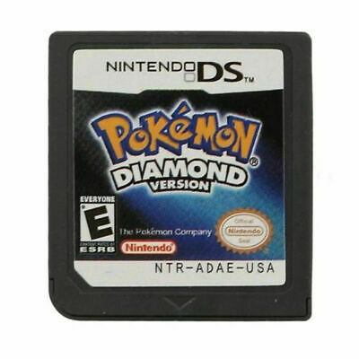 Pokemon Diamond Version Game Card For Nintendo 3DS 2DS DSI NDSI Christmas Gift