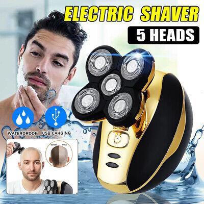 5 en 1 4D máquina de afeitar eléctrica rotativa