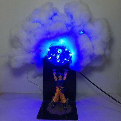 Goku Figure Dragon Ball Z Spirit Bomb Desk Lamp DBZ Led Light Toy Action Figure