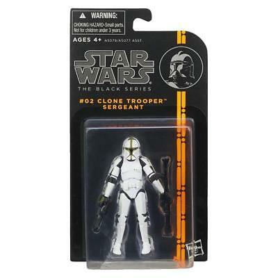 "STAR WARS BLACK SERIES CLONE TROOPER SERGEANT 3.75"" ACTION FIGURE TOY"