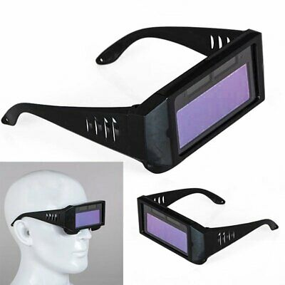 Solar Powered Auto Darkening Welding Helmet Eyes Welder Glasses Eyes Goggle Us