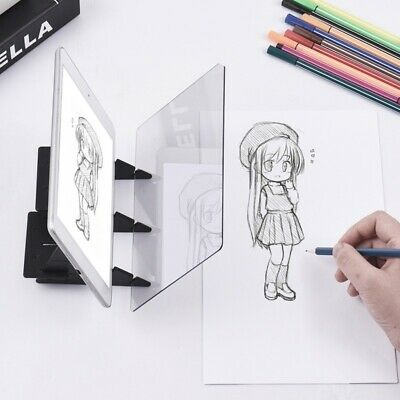Optical Projection Board Kids Drawing Aid Panel Tracing Board Painting Pad Tool