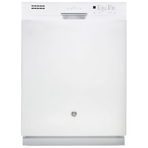 GE White Dishwasher 24in in excellent condition