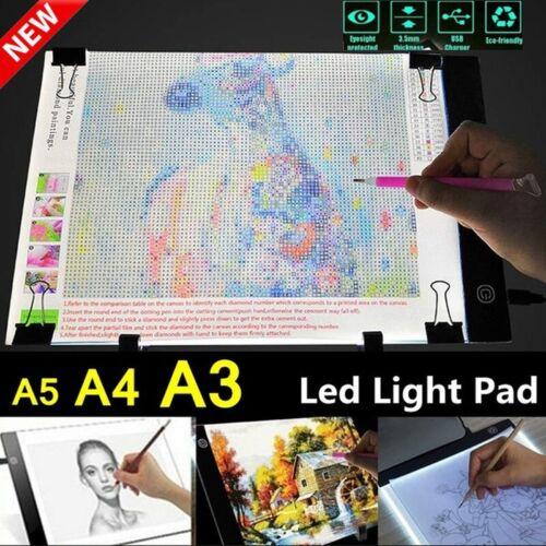 A3 LED Tracing Light Box Board Art Tattoo Drawing Copy Pad Table Stencil Display