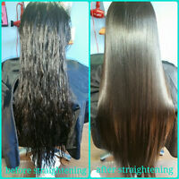 Japanés hair straightening ,kenra smoothing ,permanent straight