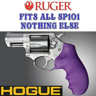 - Hogue Rubber Monogrip Grip PURPLE Fits ALL RUGER SP101 SP 101 Revolver 81006