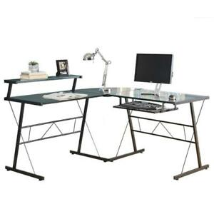 Monarch I 7172 Glass Computer Desk (New Other)