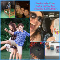 Energetic and creative babysitter available!