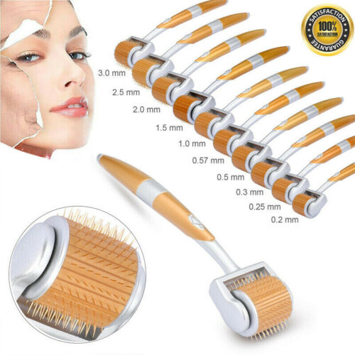 192 Needles Titanium Derma Roller Micro-Needle Beauty Wrinkles Scars Acne ZGTS