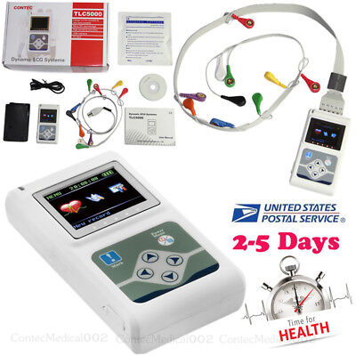 Tlc5000 Dynamic Ecg System Ecgekg Holter 12 Channel 24h Analyzerrecorder