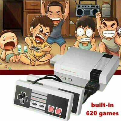 Portable Handheld Retro Games Console Player with 620 Classical Games Two player
