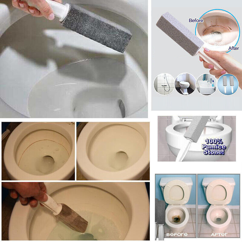 Details About Toilet Bowl Stone Cleaner Brush Wand Pumice Water Cleaning Tool X5