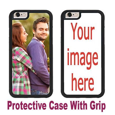 CUSTOM IMAGE RUBBER CASE FOR SAMSUNG Galaxy S9 S9+ S9 PLUS EDGE YOUR PHOTO LOGO  ()