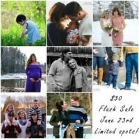 $30 Flash Sale Photography Session