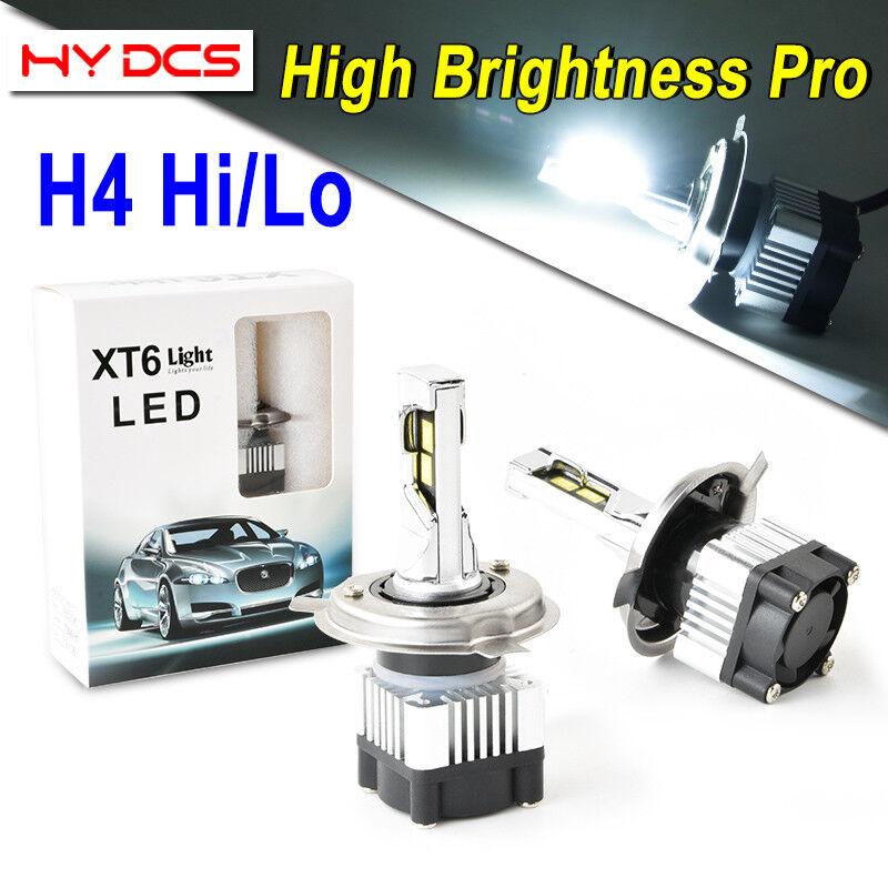 CREE H13//9008 LED Headlight Kits Bright Chips 80W 7200LM 6000K Bulbs Dual Hi Lo