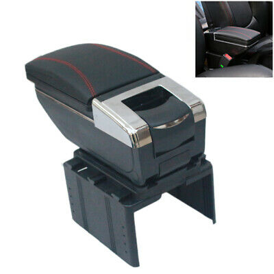 Car Central Container Armrest Box PU Center Storage Case Cup Holder Accessories