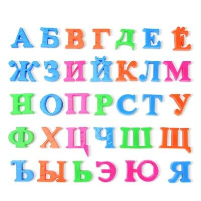 Numbers Alphabet Magnetic Puzzle Kids Russian Educational Toy Game Block Toy DIY