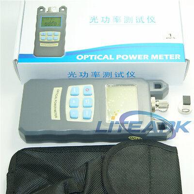 Dxp-20b Ftth Fiber Optic Optical Power Meter Cable Tester -703 Dbm Fcsc Conne