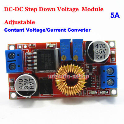 5a Dc-dc Constant Current Voltage Regulator Buck Step Down Cccv Converter Module