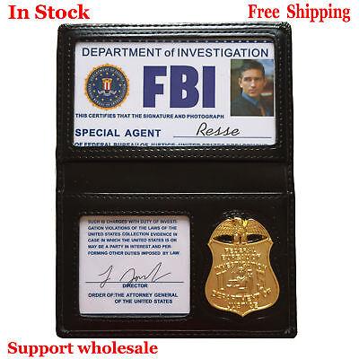 Movie Super Natural Serial FBI Badge @ Badeg Holder @ ID Card For Resse In Stock