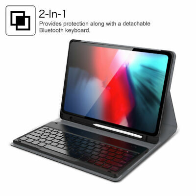 Generation Bluetooth - For iPad Pro 12.9'' 2018 3rd Generation Bluetooth Wireless Keyboard Case Stand