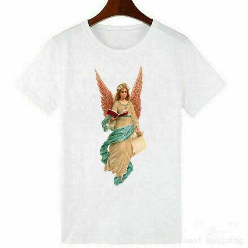 T Shirt Fashion Women Casual Ladies Short Sleeve  Tops Printed Tee  Heart Blouse