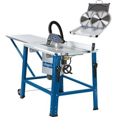Scheppach Profi-Tischkreissäge HS120o 2200W 230V 315mm Sägeblattset + Tischverl