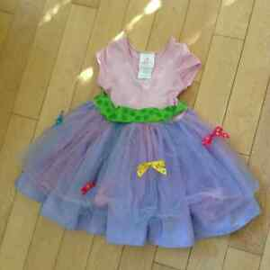 Fancy Nancy Party Dress--Excellent Condition size 3