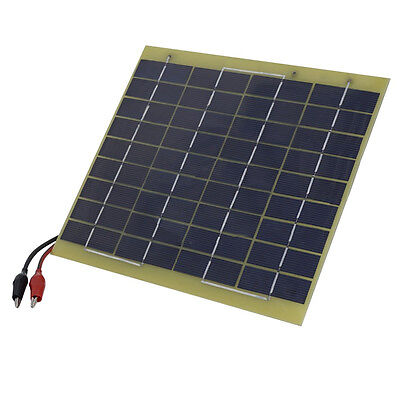 Waterproof 5W 12V Volt Solar Panel Drip Charger Boat Car Battery Brand New