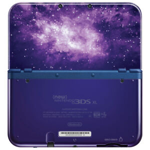 BRAND NEW 3DSXL GALAXY EDITION+NEW AC ADAPTER SEALED UNOPEND NEW