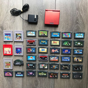 Gameboy Advance SP + games for sale SEE DESCRIPTION FOR PRICING