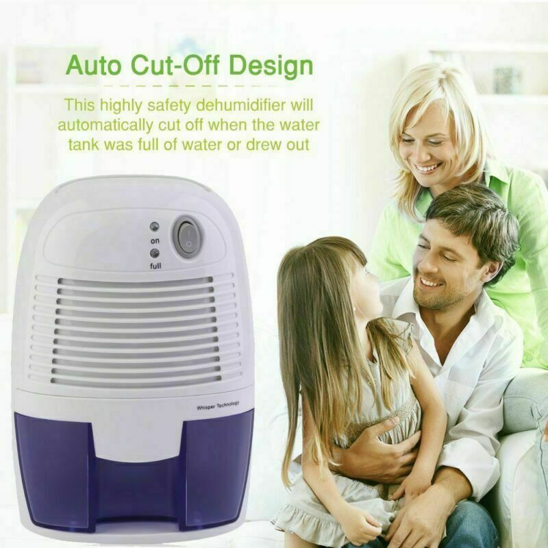 Quiet Electric Air Dehumidifier Perfect for Home/Bedroom/Kit