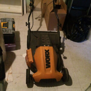 Worx electric lawn mower for sale