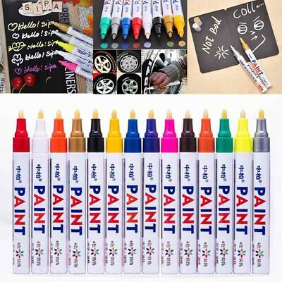 Paint Pen Marker Many Colours Car Tyre Tire Metal Permanent Pens Waterproof