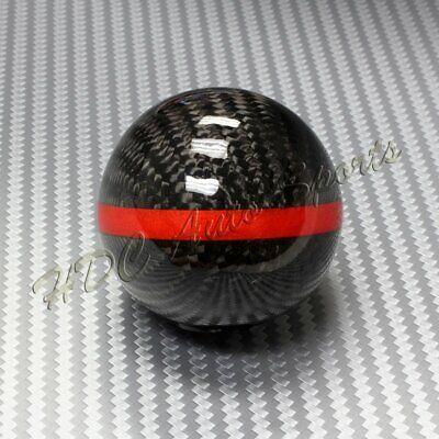 Real Carbon Fiber Ball Manual MT Gear Shift Shifter Knob W/