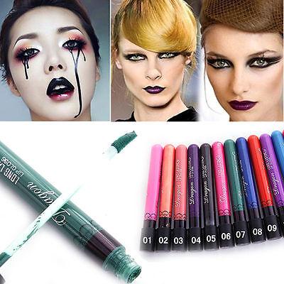Gothic Makeup (6 Color Lots Sexy Gothic Lip Gloss Paint Lipstick Velvet Long Lasting)
