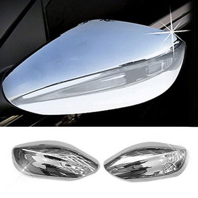 Chrome Side Mirror Cover Molding B630 For HYUNDAI 2011 - 2014 YF Sonata / i45