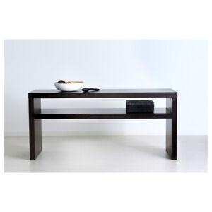 IKEA LACK CONSOLE TABLE - BLACK