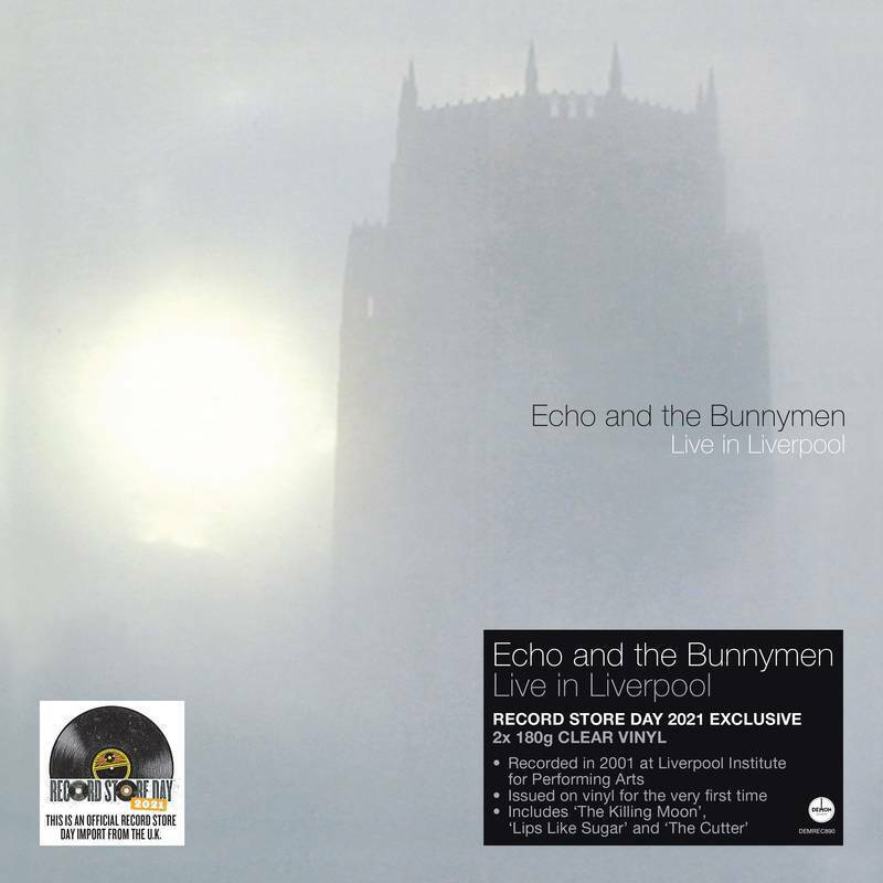 Echo & The Bunnymen - Live in Liverpool [2-lp Clear Vinyl] NEW Sealed RSD 2021