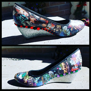Custom decorated shoes