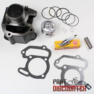 YAMAHA-RAPTOR-80-YFM80-CYLINDER-PISTON-GASKET-TOP-END-KIT-SET-2002-2008