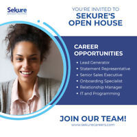 OPEN HOUSE RECRUITING EVENT (Sales/Customer Service)