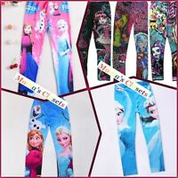 Frozen and Monster High Leggings size 4 to 16