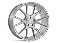 "19""Veemann V-FS23 Silver Alloy Wheels.Suit Audi A3,VW Caddy,Golf,Jetta, Passat,Seat Leon 5x112"